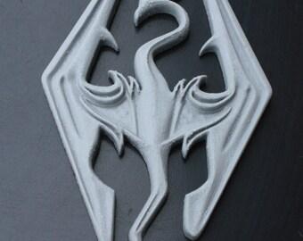 Skyrim 3D printing logo