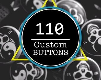 110 - Custom Buttons + Bonus Mystery Gift