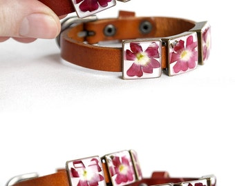 Bangles gift for mother of bride birthday present for mom Gift idea jewelry Red flower bracelet Resin jewelry Orange bracelet Eco-Friendly