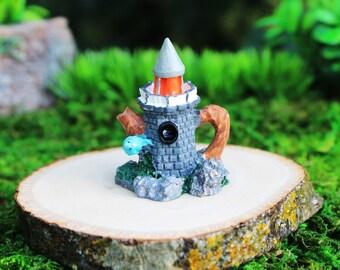 Fairy Garden Miniature, Birdhouse Teapot, Dollhouse Decoration, Garden Accessory, Mini Teapot, Collectible Miniature Teapot, Fairy Birdhouse