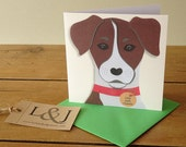 Dog Greeting Card - Jack Russell Card - Dog Lover Card - Dog Card - Jack Russell Terrier - Dog Lover - Funny Dog Card - Jack Russell - Dog
