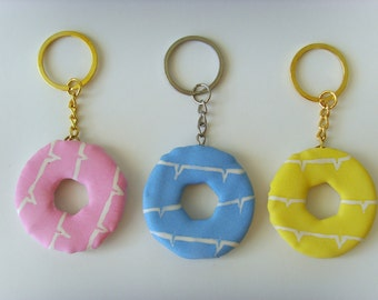 Party ring keyring