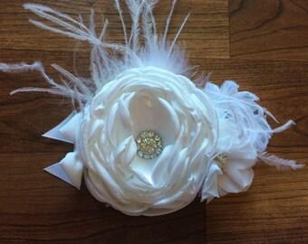 White Singed Flower