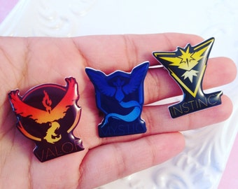 Game Pins **Choose your Team**
