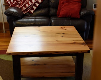 REDUCED - Reclaimed Wood Coffee Table, Square Coffee Table - Ready to Ship