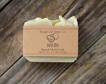 Avocado Soap - All Natural Soap, Cold Process Soap, Handmade Soap,  Vegan Soap, Palm Free Soap, Baby Soap, Unscented Soap