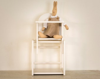 Double Wooden Dolls Chair
