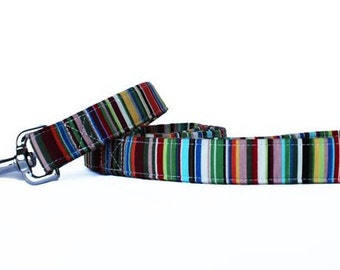 Deckchair stripes Dog Lead
