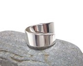 Sterling adjustable thumb ring, sterling thumb ring for man, for woman, Sterling Ring for woman, sterling ring for man.