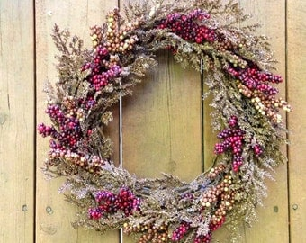 Fall Door Wreath, Front Door Wreath, Wreath For Fall, Rustic Fall Wreath, Thanksgiving Wreath,  Home Decor,  Grapevine Wreath, Rustic Decor