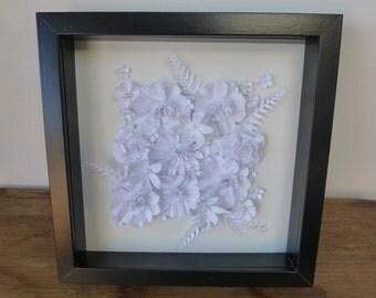 Paper Flower picture artwork 3D