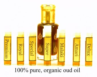 Organic Oud Oil, 100% Natural Oudh Oil, Pure Agarwood oil, Dehn Al Oudh Oil, Pure Oudh Oil, Real Oud Perfume, Sustainable Oud Oil, Real Oud