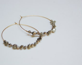 Pyrite-Wrapped Hoops