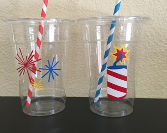 4th of July party cups