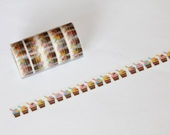 NEW! Ice Cream Sundaes Washi Tape Rolls