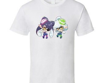 Splatoon - Callie and Marie - White T-Shirt