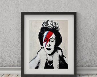 Lizzy Stardust by Banksy Art Print
