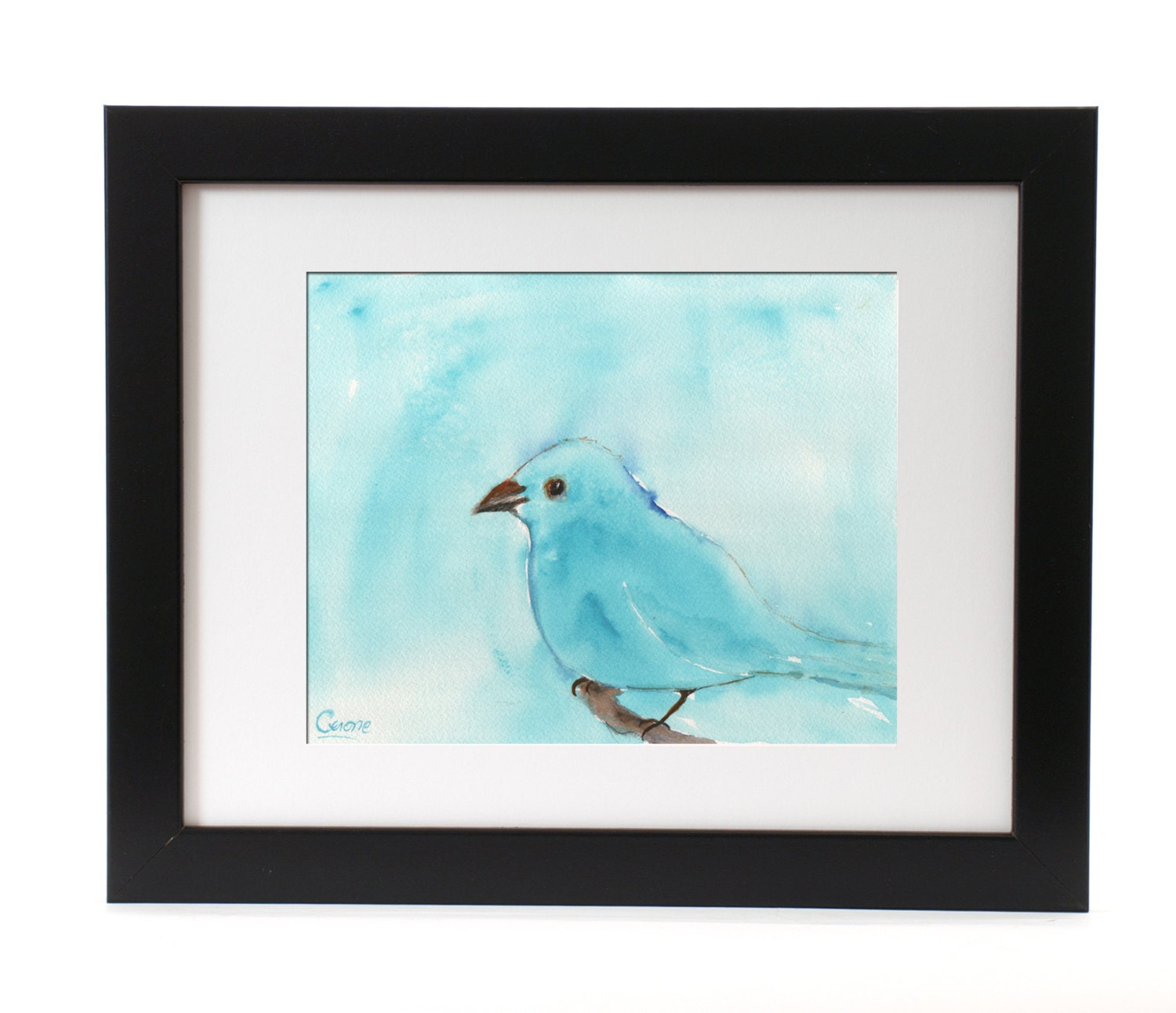 wall art home decor blue abstract watercolor blue bird wall items similar to blue bird string art home decor on etsy