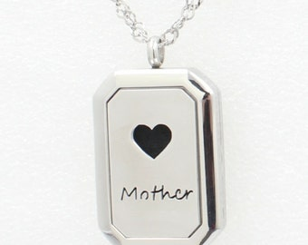 Essential Oil Diffuser Necklace- Mother-