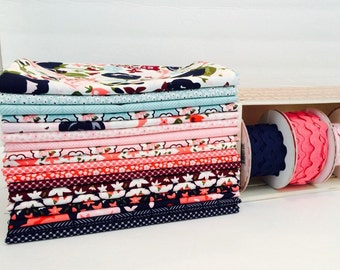 SALE!! Fat Quarter Bundle Posy Garden by Carina Gardner for Riley Blake Designs - 18 Fabrics FULL LINE!