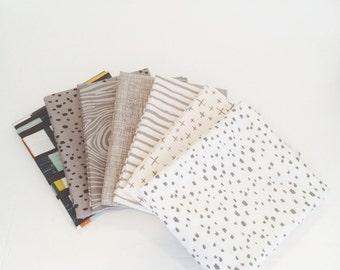 SALE!! 1 Yard Bundle Knock on Wood by Deena Rutter for Riley Blake Designs -7 Fabrics