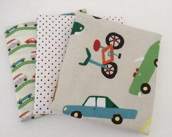 1/2 Yard Bundle Wheels 2 by Deena Rutter for Riley Blake Fabrics- 3 fabrics
