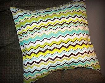 Decorative ZigZag 12 x12 inch Pillow Cover