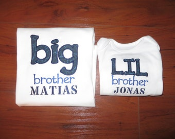 Matching Big Brother/Little Brother Shirts