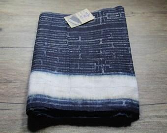 Vintage Hmong batik fabric from Hmong skirt #VB0039