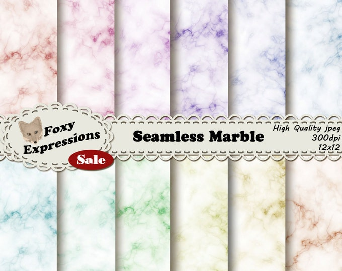Seamless Marble pack comes in beautiful soft colors on marble texture. Seamlessly comes together to make tiles, wallpaper, backgrounds, etc