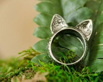 Kitty Cat Ears Ring