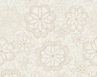 Crib Sheet or Changing Pad Cover | Girl Baby Bedding | Lace Crib Sheet | White Nursery | White Cream | Standard or Mini Crib