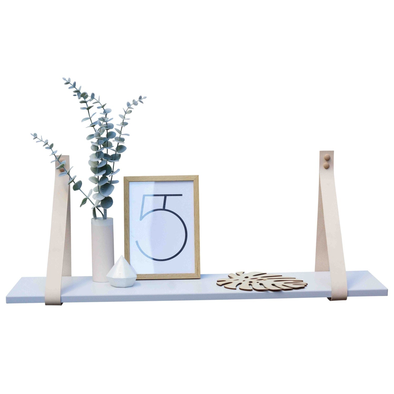 tag re avec des lani res de cuir plateau de par handgdesign. Black Bedroom Furniture Sets. Home Design Ideas