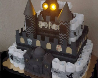 Items Similar To Hogwarts Castle Papercut On Etsy