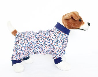 Piper's Dog Pajamas - Handmade Dog Clothes, Dog Clothing, Dog Apparel