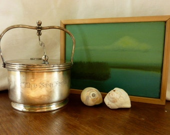 """Silver-Plated """"The Sea Food"""" Box"""
