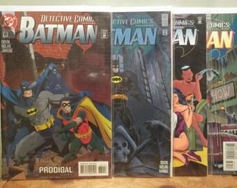 Lot of 4 Batman Detective Comics (681-684)