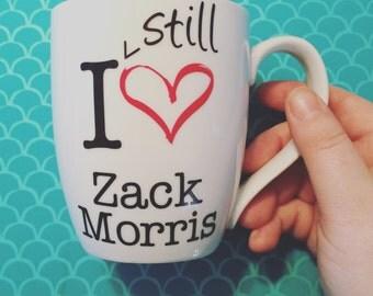 I (still) heart Zack Morris Mug