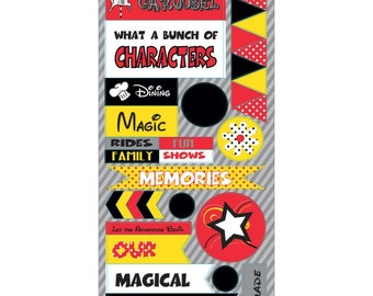 Magical Moments -  Cardstock Stickers  (MAG-2295)