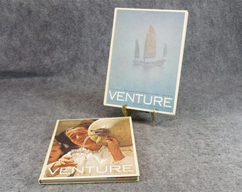 A Pair Of Venture The Travelers World Books C. 1965
