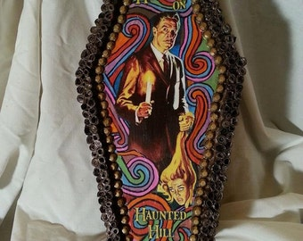 House on Haunted Hill Coffin Jewelry/Stash Box