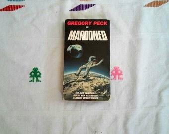 Marooned VHS vintage movie