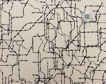 Subway Routes by Leah Duncan for Art Gallery