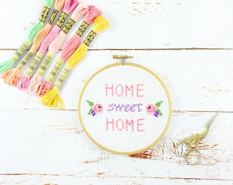 Cross Stitch Kit *** Home sweet home ***