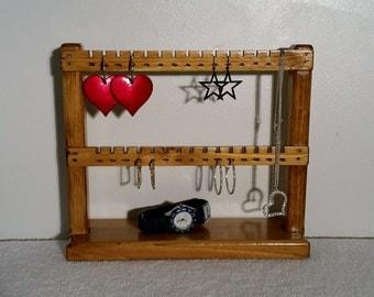 Jewelry Display, Earring Holder, Jewelry Stand, Jewelry Rack, Necklace Hanger, Jewelry Organizer, Earring Display Stand, Earring Stand