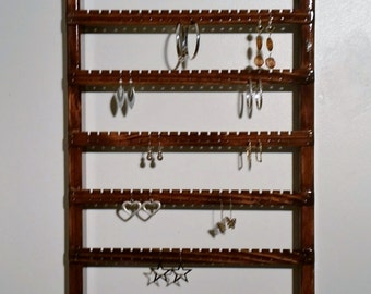 Earring Display, Wall Mounted, Earring Holder, Earring Rack, Earring Organizer, Earring Storage, Earring Holder, Jewelry Display,