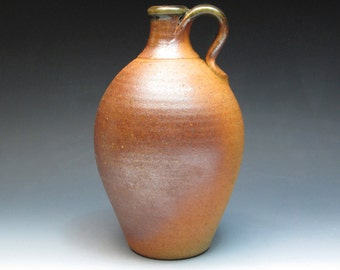 John Leach Muchelney Pottery Wood Fired Jug, Son of David Leach, Hand Thrown Stoneware Jug, Collectible Pottery, Studio Pottery