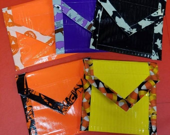 Halloween Duct Tape Coin Purses
