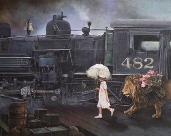 Bound for Dreams Limited Edition Giclee' print on canvas