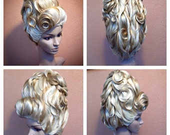 style wig antoinette order  (choice your color want or mixed colors)preorder